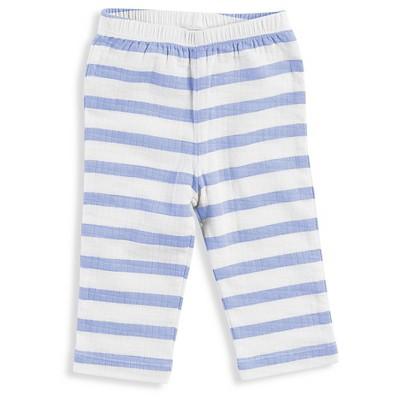 Aden + Anais® Baby Boys' Stripe Kimono Pant - Blue 0-3M