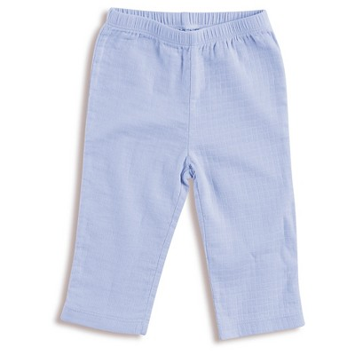 Aden + Anais® Baby Boys' Solid Kimono Pant - Blue 6-9M