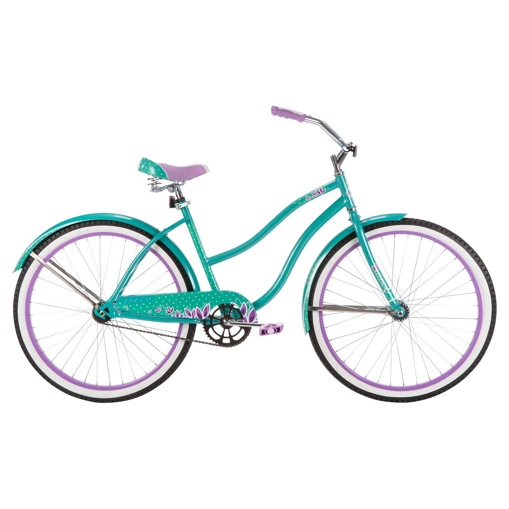 Huffy Ladies Good Vibrations Cruiser 26, Turquoise Tint