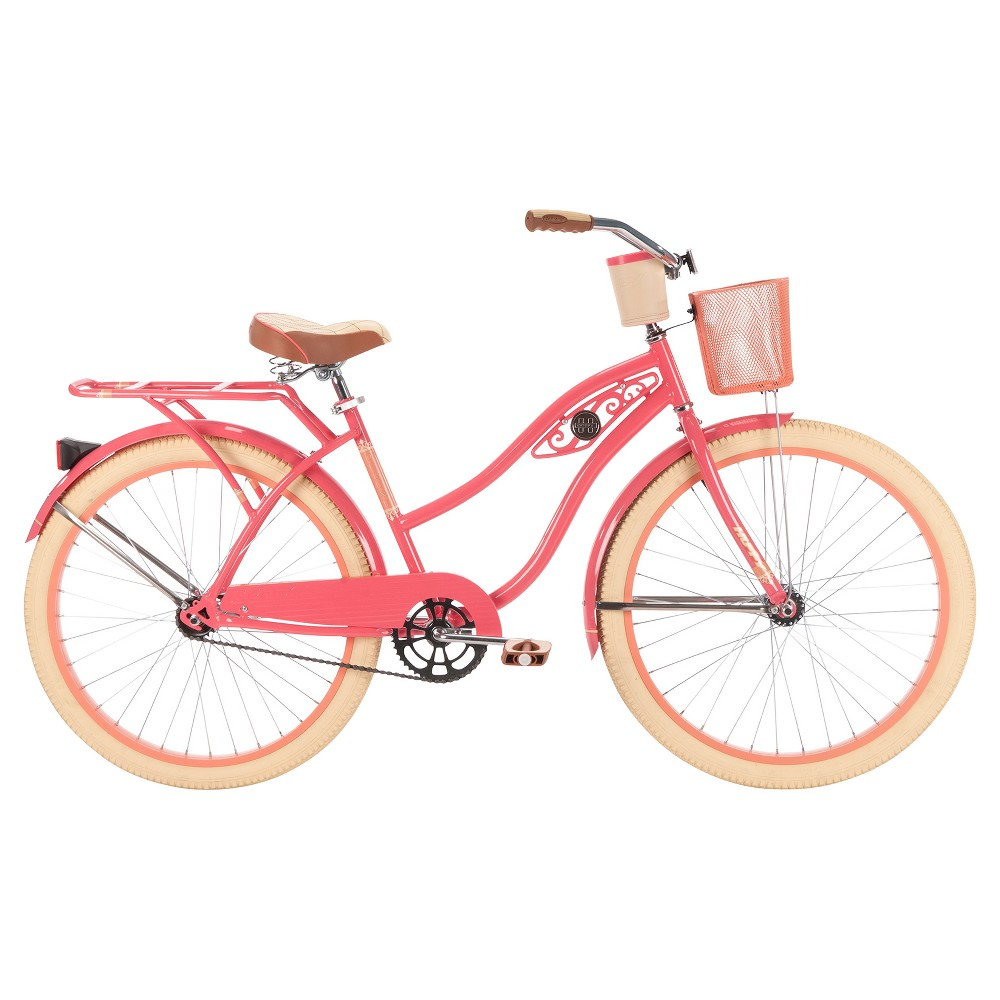 Huffy Ladies Deluxe Cruiser 26, Pink