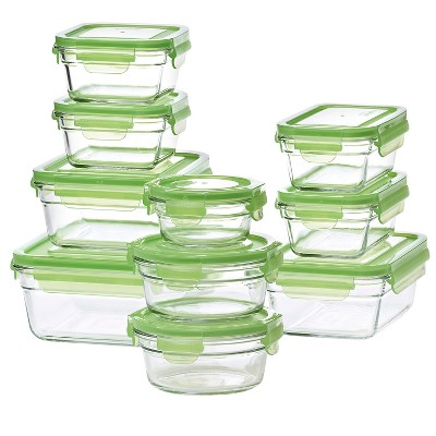 Glasslock  20-Piece Assorted Glass Storage Box Set