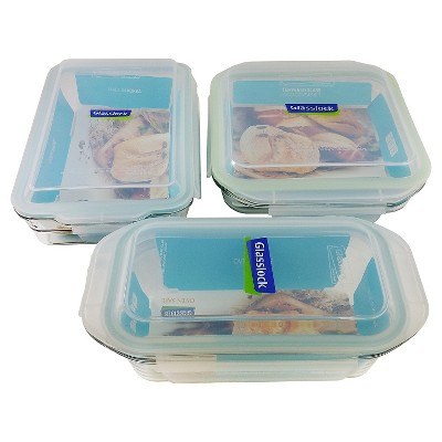 Glasslock 6-Piece Baker-ware Set