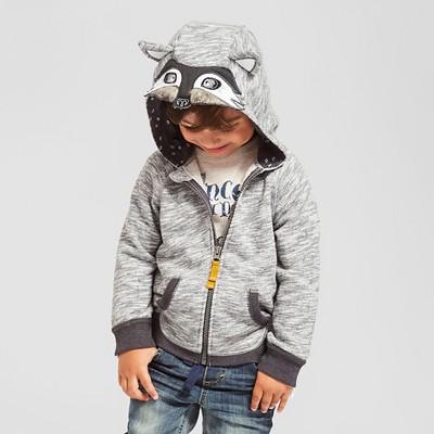 Toddler Boys' Big Bad Wolf Costume Hoodie - Gray Wolf 6 - Genuine Kids™ from OshKosh®