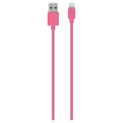 Belkin Lightning Cable - Sync and Charge Cable 2M - Pink