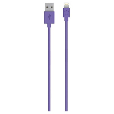 Belkin Lightning Cable - Sync and Charge Cable 2M - Purple