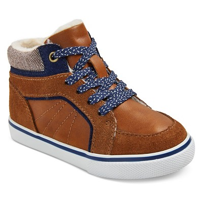 Toddler Boys' Genuine Kids Luke Sneakers - Tan 11