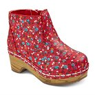 Toddler Girls' Genuine Kids Penina Floral Wooden Fashion Boots - Red