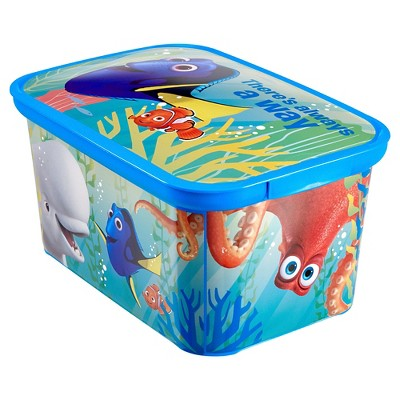 Disney® Finding Dory Plastic Storage Bin Small