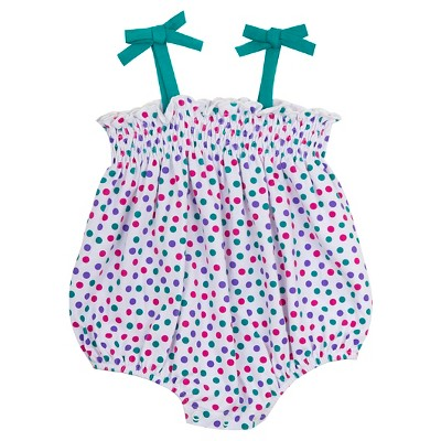 Rare, Too! Baby Girls' Dot Bubble - White/Multi 3-6M