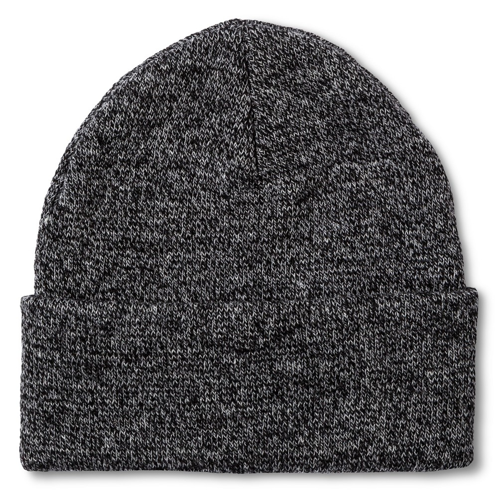 Men's Beanie Marled Gray One Size - Merona, Marled Grey