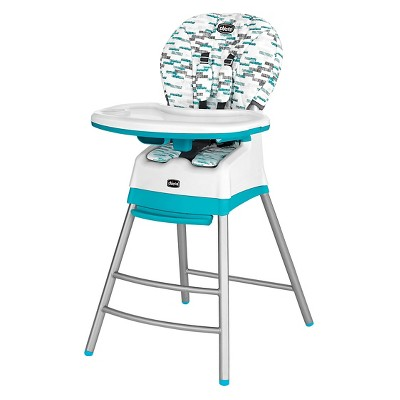Chicco Stack 3 in 1 Highchair Aqua