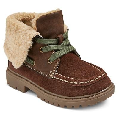 Toddler Boys' Cruz Shearling Hiking Boots Cat & Jack™ - Brown 5