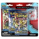 Pokemon Trading Card Game BreatkPoint 3 Pack Blister with Bonus Pin featuring Mega Scizor