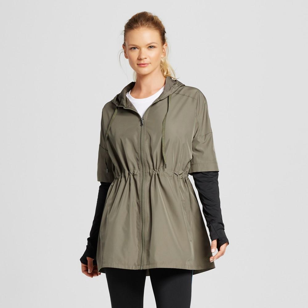 C9 Champion Women's Woven Sweatshirt - Camouflage Green S, Size: Small
