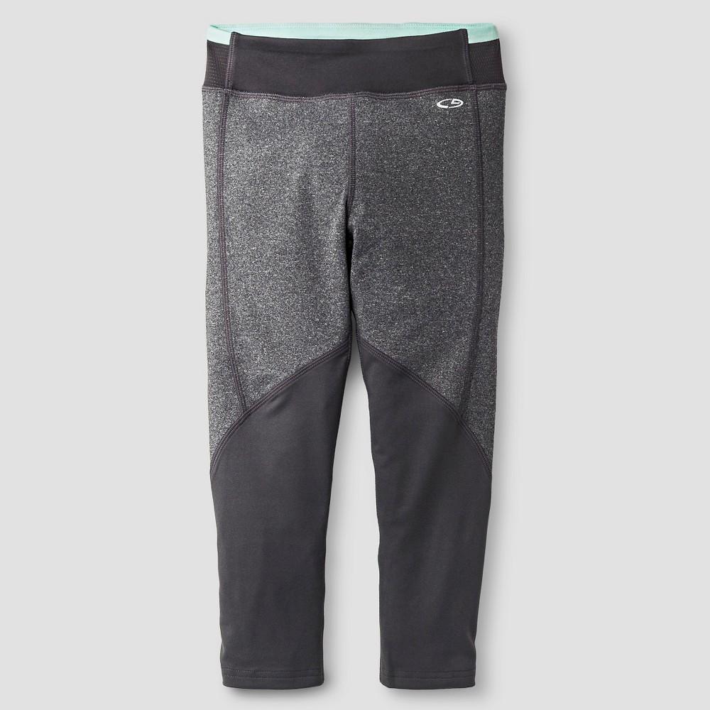 Girls' Novelty Performance Yoga Legging Gray XL - C9 Champion, Girl's, Grey
