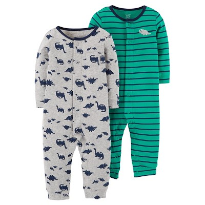Baby Boys' Dino Jumpsuit Set 6M - Just One You™Made by Carter's®