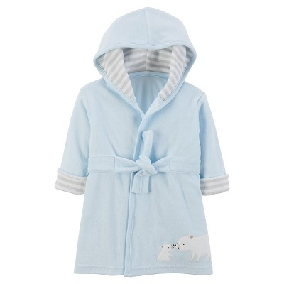 Baby Boys' Blue Bear Robe  - Just One You™Made by Carter's®