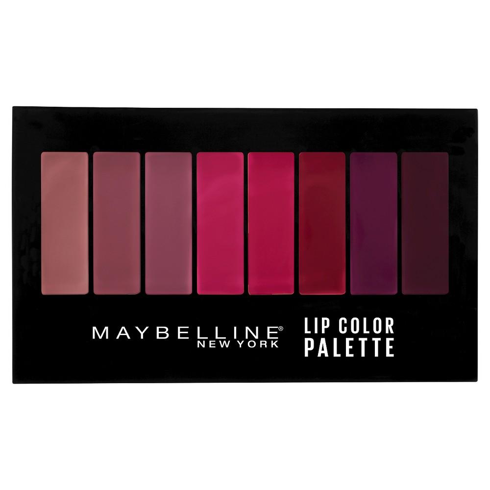 Maybelline Lip Gloss Palette Multi-Color .14oz, Multi-Colored