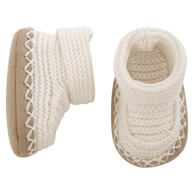 Just One You™Made by Carter's® Baby Bootie - Oatmeal NB