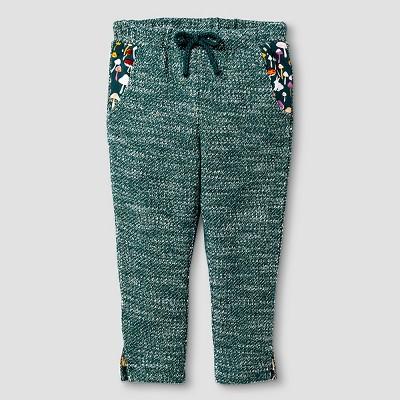 Baby Girls' Jogger Pants Green 12M - Genuine Kids from Oshkosh™