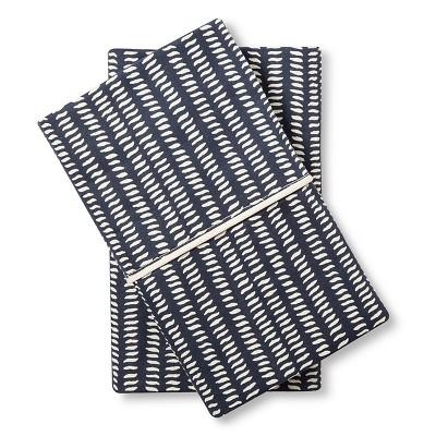 Ziba Pillowcase Set (Standard/Queen) Navy - Bedeck 1951®