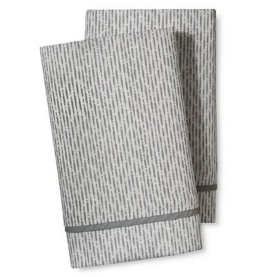 Damara Pillowcase Set (Standard/Queen) Gray - Bedeck 1951®