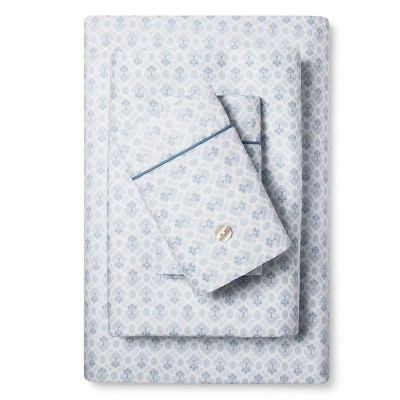 Kashan Sheet Set (King) Blue - Fable®