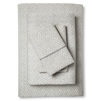 Damara Sheet Set (Queen) Gray Dash - Bedeck 1951®
