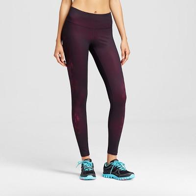C9 Champion® Women's Performance Legging - Night Tulip Placed Print Warm S