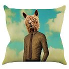 "Natt ""Passenger 11A"" Throw Pillow"