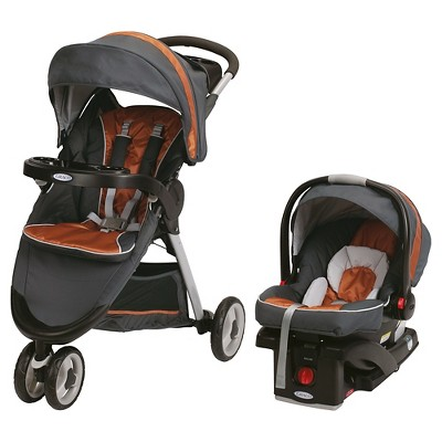 Graco® Fast Action Sport Click Connect Travel System - Tangerine