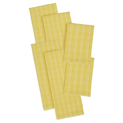 Snapdragon Heavyweight Dishtowels and Dishcloths (set includes 4 towels and 2 cloths)
