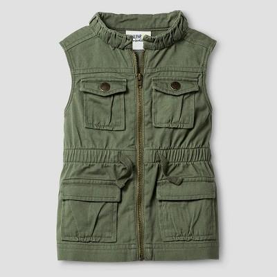 Baby Girls' Fashion Vest - Green 12M - Genuine Kids from Oshkosh™
