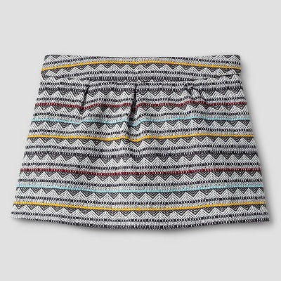 Baby Girls' Jacquard Mini Skirt Cream 12M - Genuine Kids from Oshkosh™