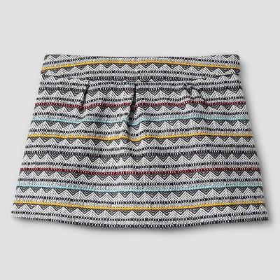 Baby Girls' Jacquard Mini Skirt Cream 12M - Genuine Kids from Oshkosh™