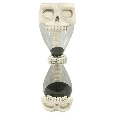 Halloween Skull Hourglass