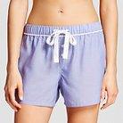 Women's Pajama Shorts Blue Chambray XS - Gilligan & O'Malley™