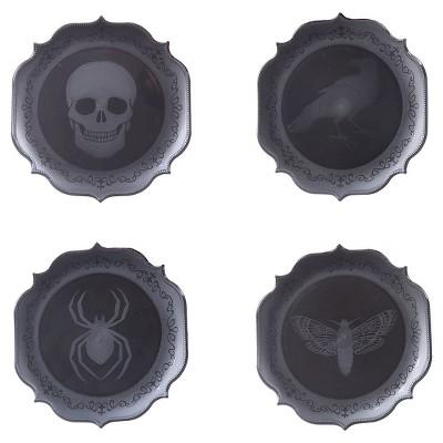 Halloween Appetizer Plates 4ct - Spritz™