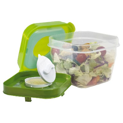 Fit & Fresh Salad Shaker with Ice Pack