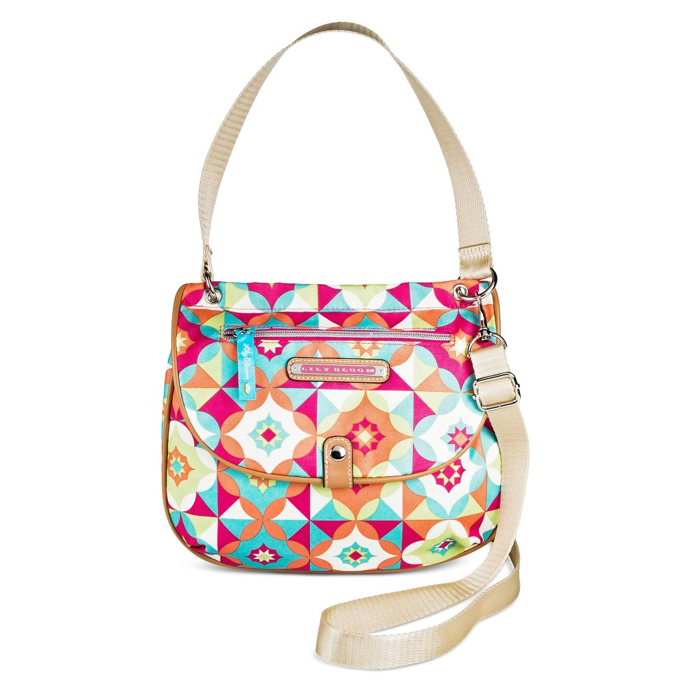 Lily Bloom Quinn Convertible Crossbody Handbag - Multicolor, Women's, Pink