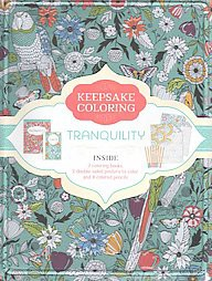 Tranquility ( Keepsake Coloring) (Mixed media product) by Parragon Books LTD