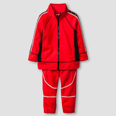 Baby Boys' Top and Bottom Set - Red 18 M - Cat & Jack™