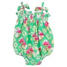 Rare, Too! Baby Girls' Flamingo Bubble - Mint/Pink 12M