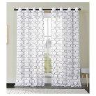 VCNY Khara Faux Linen Curtain Panel
