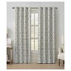 VCNY Tribeca Jacquard Grommet Curtain Panel