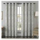 Longview Jacquard Grommet Curtain Panel