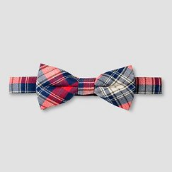 Boys' Bow Tie Cat & Jack™ - Red Plaid