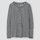 Girls' Woven Long Sleeve Tee Cat & Jack™ - Black