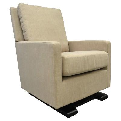 Shermag Chelsea Upholstered Glider Chair - Sand