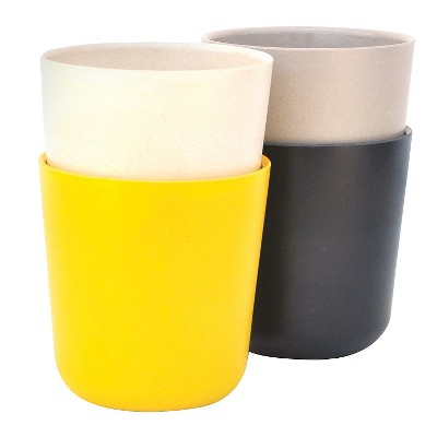 Biobu by Ekobo Gusto 15oz Tumblers - Set of 4